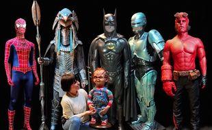 Laurie Corbier, responsable de la collection cinéma au sein du musée de la miniature et du cinéma de Lyon, a réussi à rassembler les pièces des cinq costumes de super héros, éparpillées à travers le monde entier.