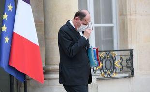 Jean Castex le 21 avril 2021 à l'Elysée.