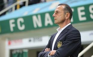 NANTES, le 17/09/2012 Michel Der Zakarian, entraineur du FCN lors du match contre Guingamp