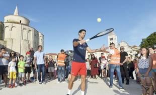 Novak Djokovic, à Zadar