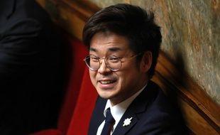 Le député des Français de l'étranger Joachim Son-Forget, à l'Assemblée nationale en février 2018.