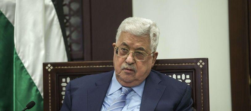 Le président de la Palestine, Mahmoud Abbas.