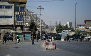 Les forces de l'ordre déployées à Kaboul