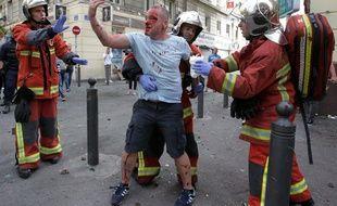 Un supporter anglais le 11 juin à Marseille