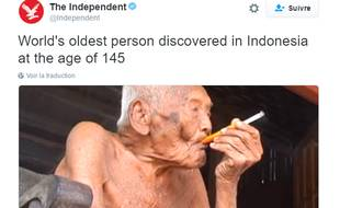 Mbah Gotho affirme être né le 31 décembre 1870 sur l'île de Java (Indonésie) et serait donc âgé de 145 ans, faisant de lui le doyen de l'humanité.