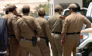 Des forces de sécurité saoudiennes, le 23 juin 2006 à Riyad