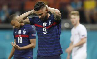 Victime du retour de Karim Benzema, Giroud a peu joué lors de l'Euro.