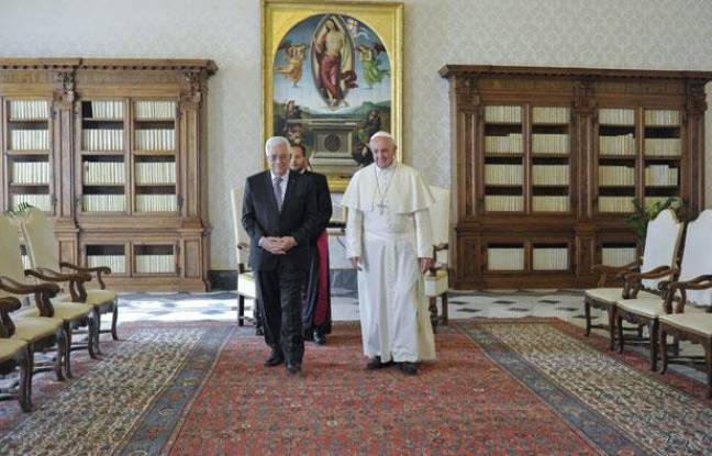 Le Pape François a reçu Mahmoud Abbas au Vatican en octobre 2013.