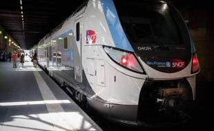 Un train SNCF