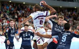 Nicolas Claire contre Montpellier.