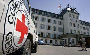 Le siège du Comité International de la Croix-Rouge, à Genève, en Suisse.