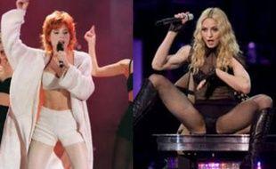 Madonna, Mylène Farmer, le starclash
