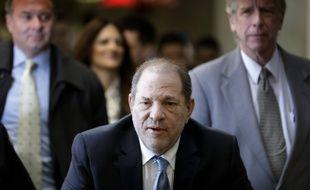 Harvey Weinstein à son arrivée au tribunal de Manhattan, le 24 février 2020.