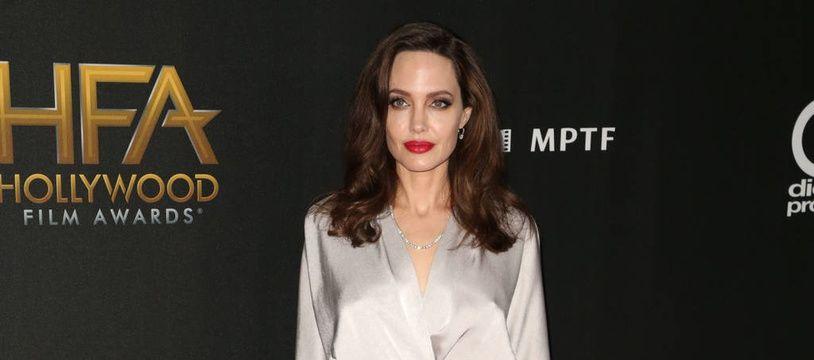 L'actrice Angelina Jolie