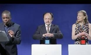 Capture d'écran du spot de campagne de Philippe Poutou pour la présidentielle 2012.