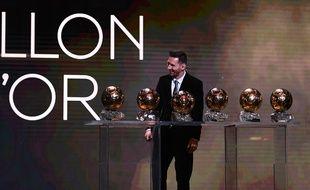 Messi a remporté son sixième Ballon d'Or.