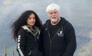 Lamya Essemlali et Paul Watson de Sea Shepherd