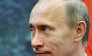 Vladimir Poutine, Premier ministre russe.