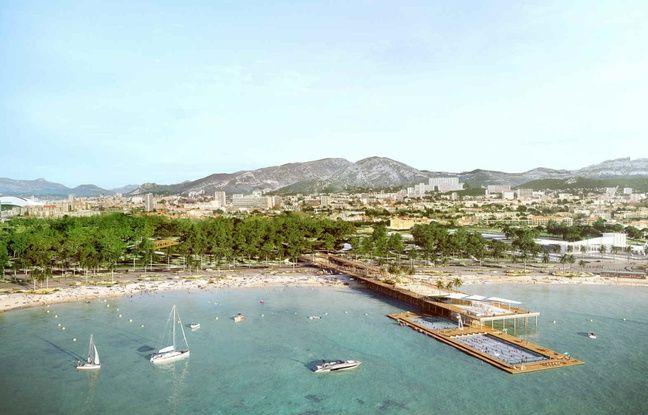 Le projet d'extension du Parc Borély de Martine Vassal, avec une piscine en pleine mer.