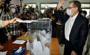 Le premier ministre sortant battu lors des élections de mercredi, Saad-Eddine El Othmani.