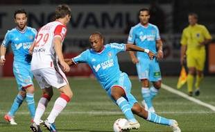 André Ayew face à Nancy, le 16 septembre 2013