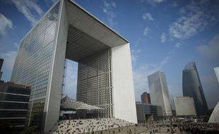 Le quartier de La Défense à Paris.