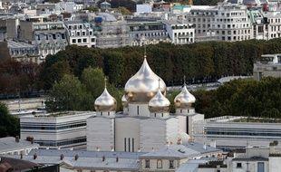 La nouvelle église orthodoxe de Paris inaugurée ce mercredi 19 octobre.