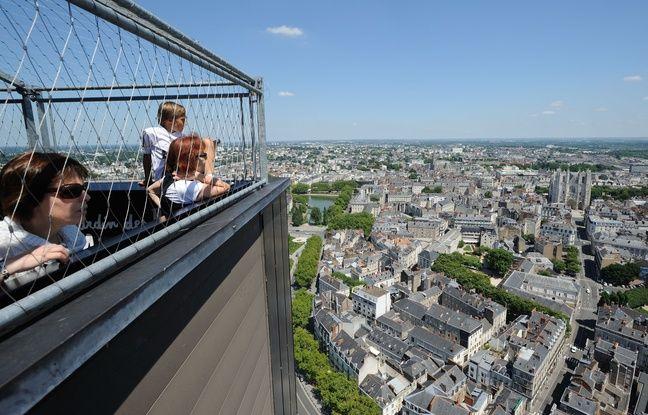 Le Nid offre une superbe vue sur Nantes