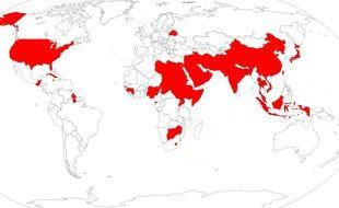 La peine de mort est encore effective dans de nombreux pays.