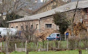 Une femme a été retrouvée morte dans cette ferme de Mayran (Aveyron), le 17 février 2016.