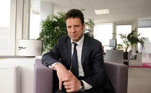 Geoffroy Roux de Bézieux, candidat à la présidence du Medef.