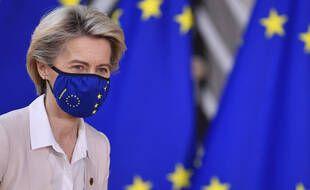 Ursula von der Leyen, présidente de la Commission européenne, à Bruxelles, le 10 décembre 2020. (illustration)