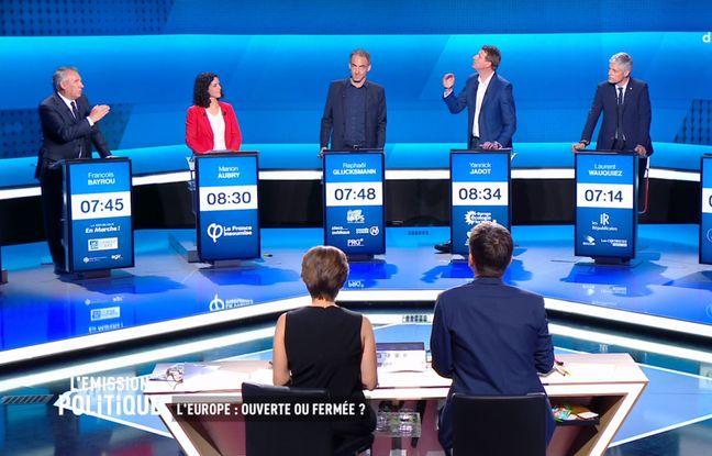 Elections européennes: Ce qu'il faut retenir du débat de France 2 entre les têtes de liste et chefs de partis