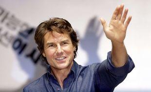 Tom Cruise en juillet 2015 lors d'un déplacement en Corée du sud