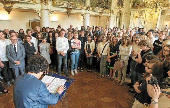141 collégiens et lycéens du Bas-Rhin ont été récompensés.