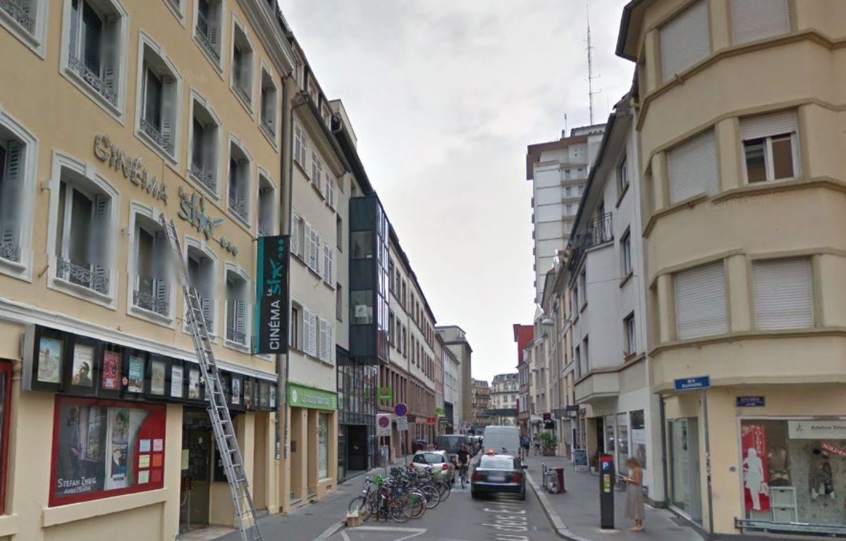 C'est la fin des voitures dans la rue du jeu des enfants à Strasbourg ! – Capture d'écran / Google street view.