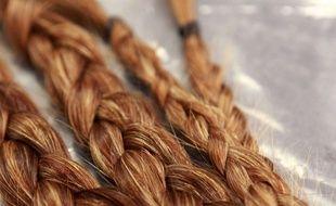 Des cheveux roux (photo d'illustration)
