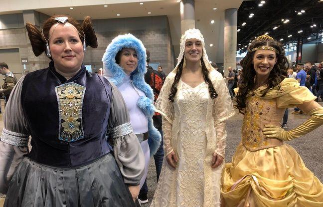 Des princesses fans de Star Wars à Chicago