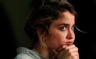 Adèle Haenel soutient Valentine Monnier, qui témoigne contre Roman Polanski.