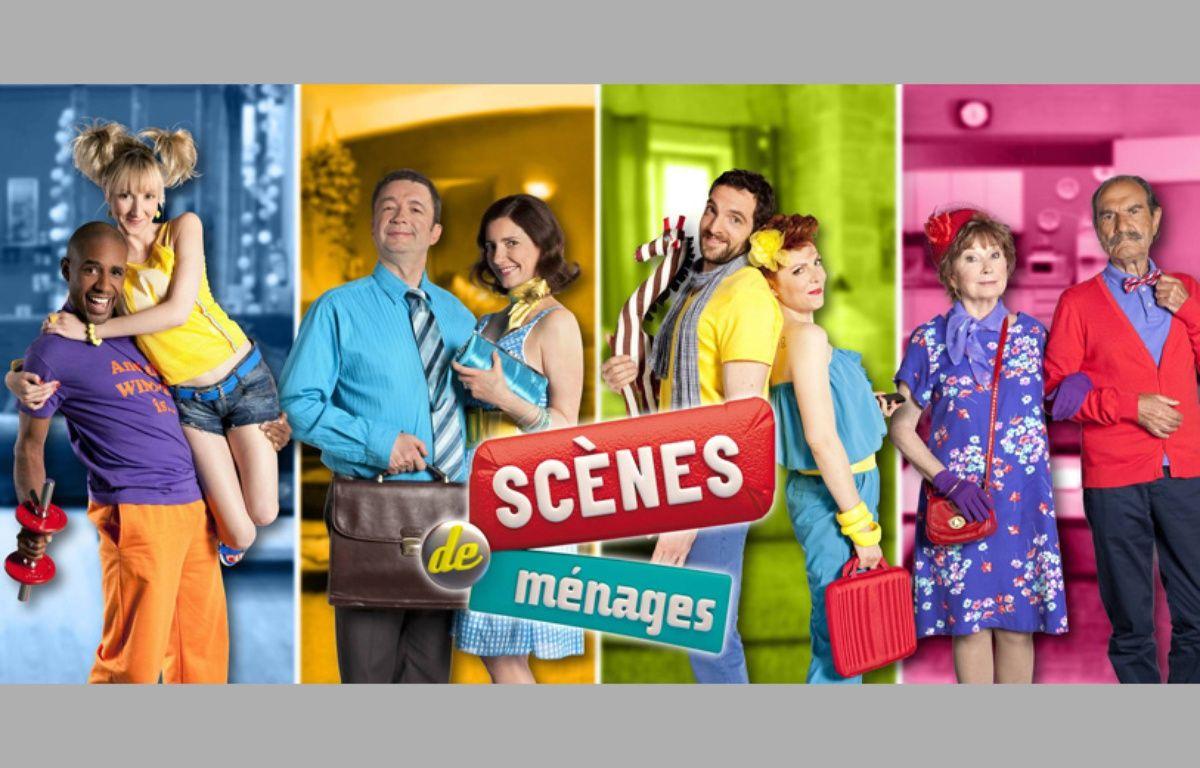 Les couples de la mini-série «Scènes de ménages» sur M6. – Cécile ROGUE/M6
