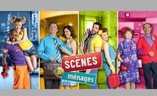 Les couples de la mini-série «Scènes de ménages» sur M6.