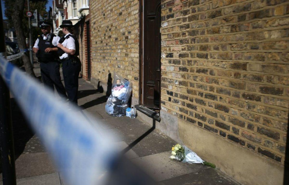 Un corps calciné a été retrouvé à l'arrière d'une maison du quartier londonien de Southfields – DANIEL LEAL-OLIVAS / AFP