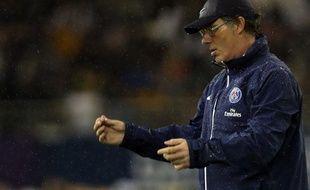Laurent Blanc, l'entraîneur du PSG, le 2 janvier 2014 àDoha.
