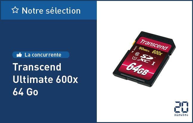Transcend Ultimate 600x 64 Go