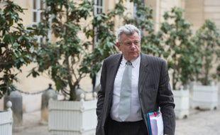 Le secrétaire d'Etat au Budget Christian Eckert, le 2 mai 2014.