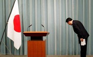 Banri Kaieda, le ministre japonais du commerce le 19 juillet à Tokyo