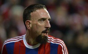 Franck Ribéry lors du match avec le Bayern Munich en décembre 2014.