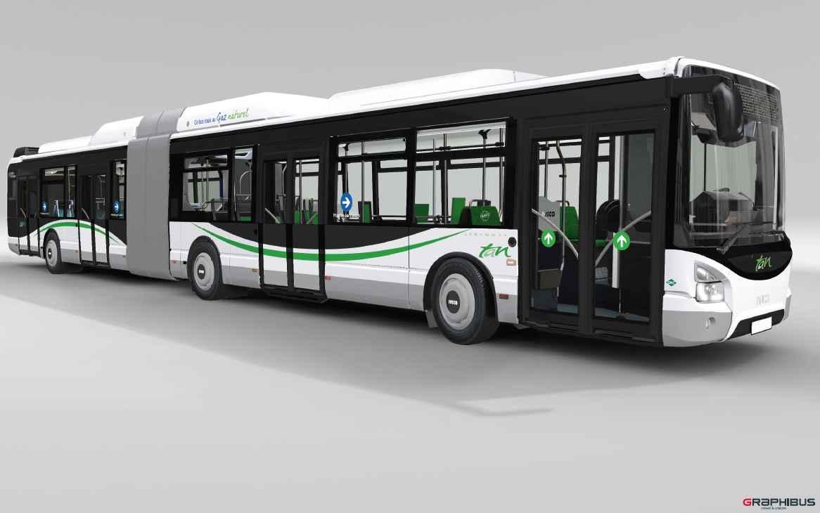 nantes 80 nouveaux bus articul s pour gagner de la place et polluer moins. Black Bedroom Furniture Sets. Home Design Ideas
