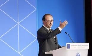 François Hollande dressait ce mardi  le bilan des 34 plans de la