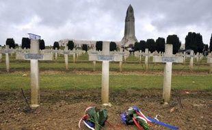 L'ossuaire de Douaumont (Meuse), où sont entreposés les dépouilles de 130.000 soldats de la Première guerre mondiale, a été profané dans la nuit de mercredi à jeudi.